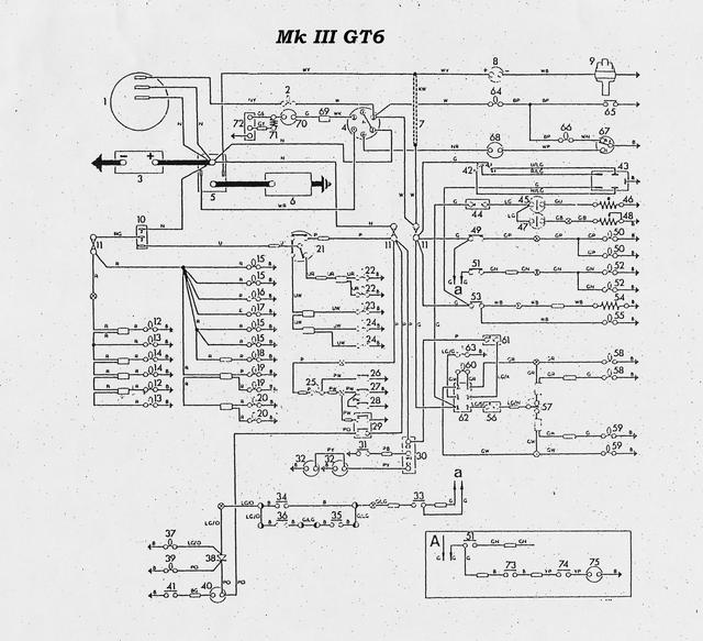 triumph overdrive wiring diagram gt6 mk 3 overdrive wiring and horn relay : spitfire & gt6 ... 1947 lincoln overdrive wiring diagram