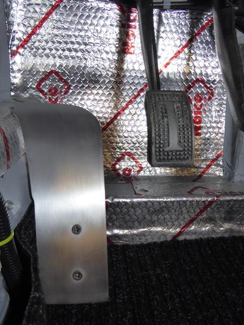 Dead pedal installed.JPG