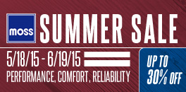 Moss Motors Summer Drive Sale