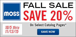 Save 20% on select catalog pages