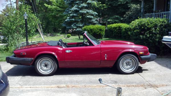 1979 triumph spitfire 1500 fm101499u registry the triumph experience. Black Bedroom Furniture Sets. Home Design Ideas