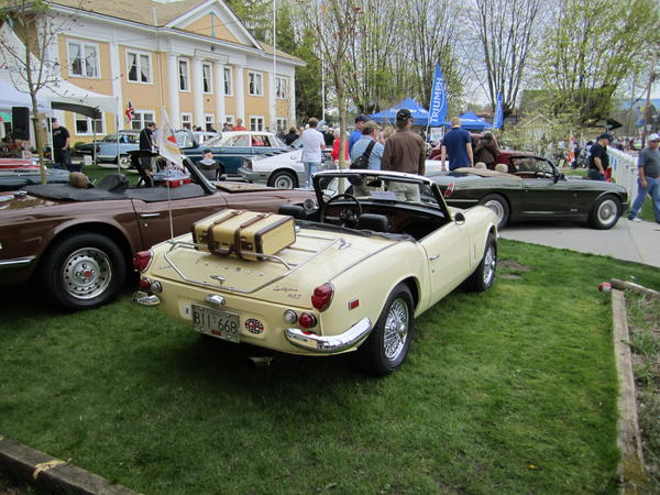 1969 triumph spitfire mkiii (fdu47629) : registry : the triumph