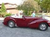 1949 Triumph 2000 Roadster BURGUNDY Paul brannan