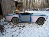 1970 Triumph TR6 Blue James D