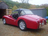 1959 Triumph TR3A Signal Red Tom Morehouse