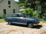 1960 Mercedes Benz 190b Medium Blue DB350H Tom Morehouse