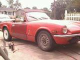 1974 Triumph Spitfire 1500 Red multi colored Jason M