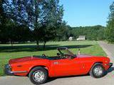 1976 Triumph Spitfire 1500 Red Bill Snow