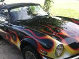 1971 Triumph Spitfire MkIV Black With Flames Sylvia Dunnigan
