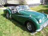 1958 Triumph TR3A British Racing Green John Grady