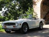 1969 Triumph TR6 Old English White H G Huisman