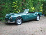 1963 Triumph Spitfire Conifer Green jamie harmening
