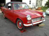 1966 Triumph Herald 1200 Red Keith D