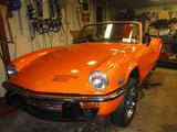 1976 Triumph Spitfire 1500 Orange Jim Deatsch