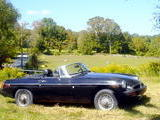 1976 MG MGB Black Tom Morehouse