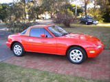 1989 Mazda MX 5 Orange With Evo Gold Hardtop Wayne Watkins