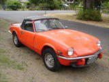 1970 Triumph Spitfire 1500 Orange Andrew W