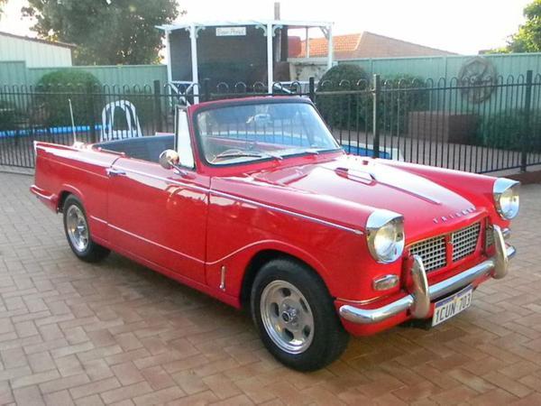Célèbre 1961 Triumph Herald 1200 (REDDEVIL) : Registry : The Triumph  PI27