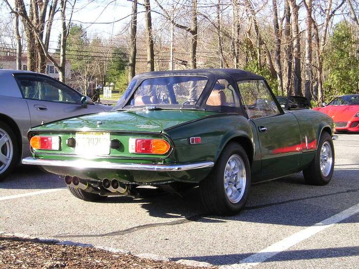 1978 triumph spitfire 1500 (fm78125u) : registry : the triumph