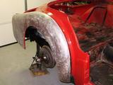 1960 Triumph TR3A Red Charles Hitt