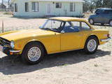 1976 Triumph TR6 Inca Yellow ron alexander