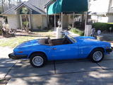 1980 Triumph Spitfire 1500 Pageant Blue Richard Boukal