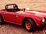 1965 Triumph TR4A Candy Burgundy john m