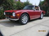 1974 Triumph TR6 Carmine Cliff Tubbs