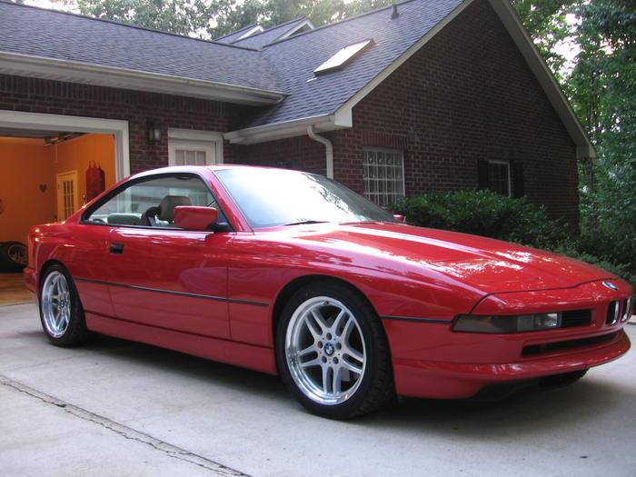1991 Bmw 850i Wbaeg1319mcb42220 Registry The Triumph