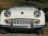 1957 Triumph TR3 White Alan Grossman