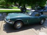 1968 Triumph Spitfire MkIII Conifer Green Paul Goelz