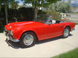 1965 Triumph TR4 Red Michael M