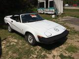 1981 Triumph TR7 White Michael Malone