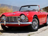 1964 Triumph TR4 Red Kelly H