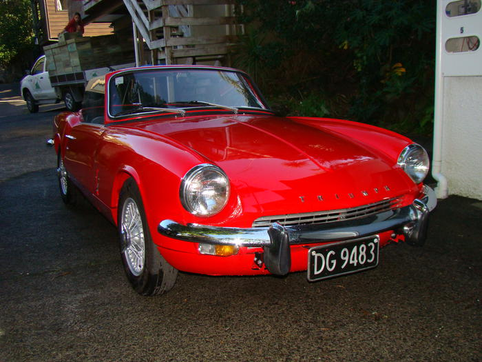 1967 triumph spitfire mkiii fd6333 registry the triumph experience. Black Bedroom Furniture Sets. Home Design Ideas