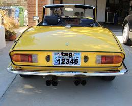1977 triumph spitfire 1500 (fm66115uoc) : registry : the triumph