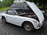 1967 Triumph TR4A White gary e