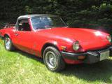 1979 Triumph Spitfire 1500 Red Joe Jones