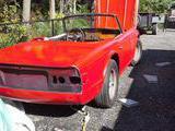 1974 Triumph TR6 RED Bruce Kidd