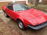 1981 Triumph TR7 Drophead Red Dennis M Shary