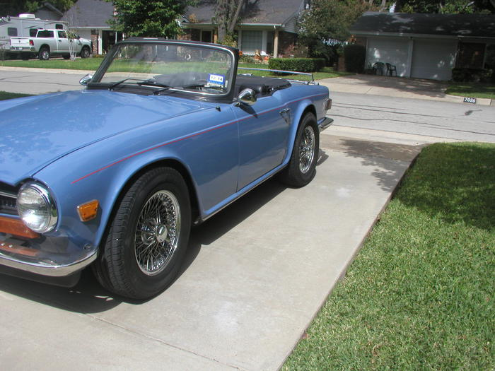 1974 triumph tr6  cf18975u    registry   the triumph