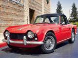 1963 Triumph TR4 Red Nhien L