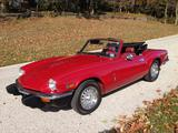 1976 Triumph Spitfire 1500 Red spencer wiley