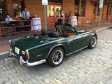 1968 Triumph TR250 Jaguar Racing Green Paul Morro