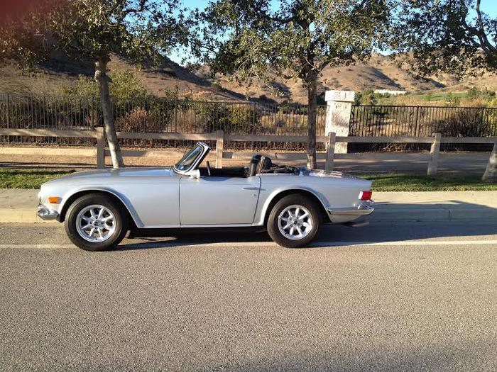 1969 triumph tr6 cc26075l registry the triumph