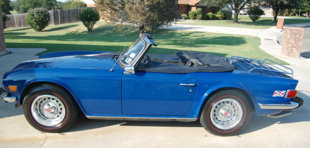 1976 Triumph Tr6  121212122121    Registry   The Triumph
