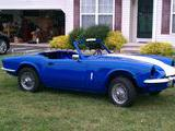 1979 Triumph Spitfire 1500 Royal Blue Phil Amrine