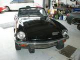 1976 Triumph Spitfire 1500 Black Jason Adams