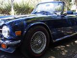 1976 Triumph TR6 Tahiti Blue Gabe Bandy