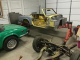 1978 Triumph Spitfire 1500 Green Yellow Mike Travers